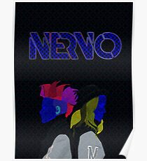 Nervo | MODERN ART | VIBRANT DESIGN | ABSTRACT | CONTEMPORARY STUDIO  Poster