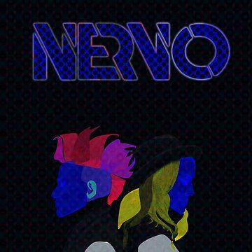 Nervo | MODERN ART | VIBRANT DESIGN | ABSTRACT | CONTEMPORARY STUDIO  by WildUnit