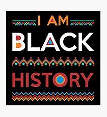 I Am Black History Photographic Print