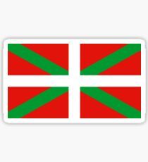 Flag of the Basque Country Sticker