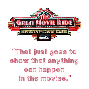 The Great Movie Ride by ByMinotti