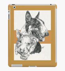 Bull Terrier Father & Son iPad Case/Skin