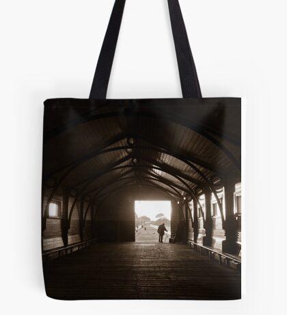 Queenscliff fisherman Tote Bag