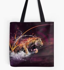 TIGER SPLASH by Skyzune ART Tote Bag