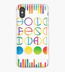 Holi festival vector lettering in color transition trend iPhone Case/Skin