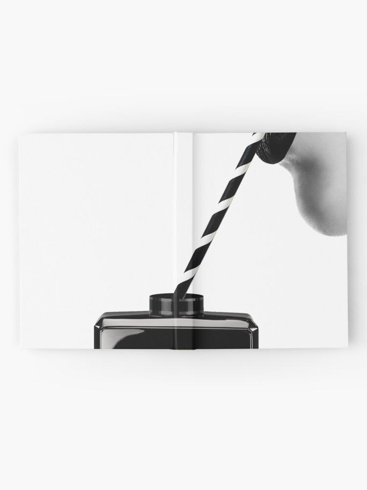 Alternative Ansicht von Frau, Mädchen, Lippen drucken, Fashion Art, Modedruck, skandinavische Kunst, moderne Kunst, Wandkunst, Print, minimalistisch, Modern Notizbuch