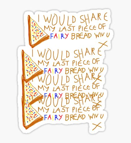 'Fairy Bwead' Sticker