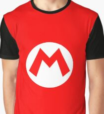 Super Mario Mario Icon Graphic T-Shirt