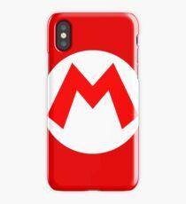 Super Mario Mario Icon iPhone Case