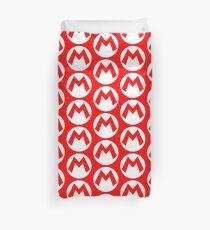 Super Mario Mario Icon Duvet Cover