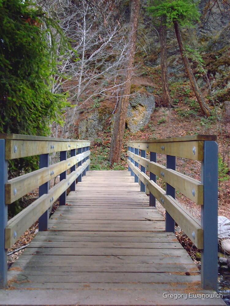 Foot Bridge by Gregory Ewanowich