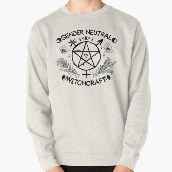 Gender Neutral Witchcraft (black) Pullover Sweatshirt