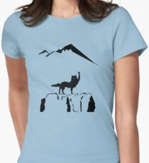 Canis Lupus Womens Fitted T-Shirt