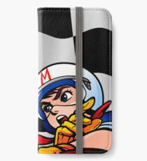 Speed Racer Checkered Flag! iPhone Wallet/Case/Skin