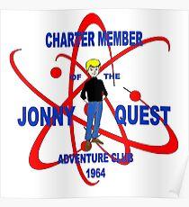 Jonny Quest Adventure Club 1964 Poster