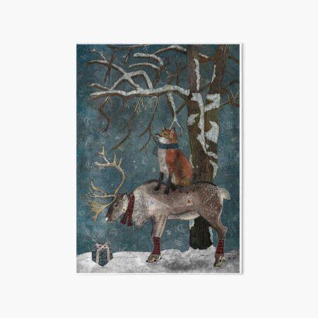 Winter Tale Art Board Print