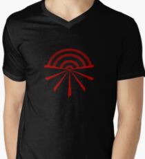 Seko designs 22 Colour Me Red Men's V-Neck T-Shirt