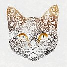 Swirly Cat by . VectorInk