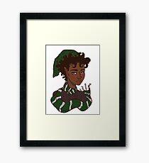 Magical Cunning Girl Framed Print