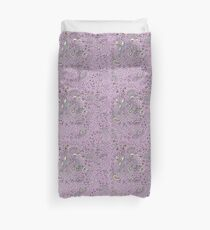 Fruits and Paisley - Purple Duvet Cover