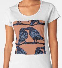 Orange Crows Women's Premium T-Shirt