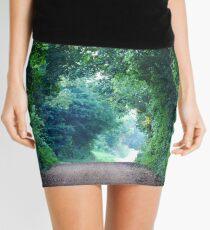 A Green Tunnel Mini Skirt