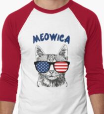 Meowica USA Cat T-Shirt