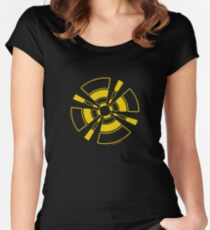 Mandala 24 Yellow Fever Women's Fitted Scoop T-Shirt