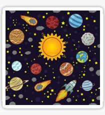 Magic School Bus Solar System Sticker