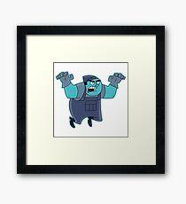 Danny Phantom : I AM THE BOX GHOST Framed Print