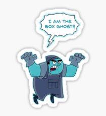 Danny Phantom : I AM THE BOX GHOST Sticker