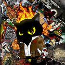 Cat Behemoth (Master & Margarita) by thesamba
