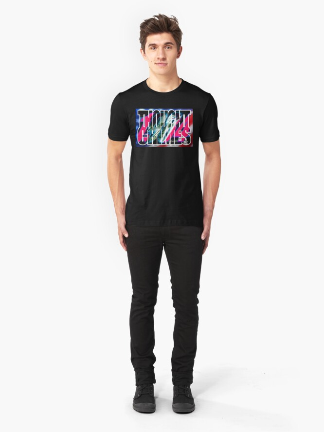 Alternate view of Thought Crimes Slim Fit T-Shirt