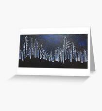 Blacklight Greeting Card