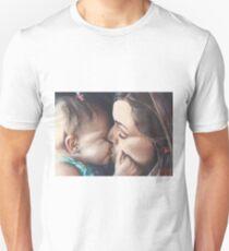 Lindsay and Baby Ashlyn Unisex T-Shirt