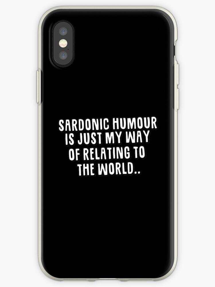 Sardonic Humour by Alicia Paget