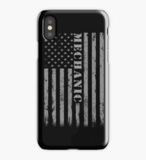 Mechanic Cool Novelty Soft Screen Printed Summer Graphic Gift Tshirt iPhone Case