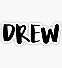 Drew Sticker