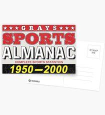 Biff's Almanac Postcards