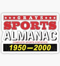 Biff's Almanac Sticker