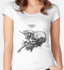 221 Horse Women's Fitted Scoop T-Shirt