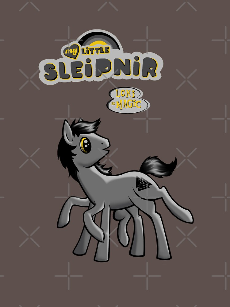 TShirtGifter presents: My Little Sleipnir 2 | Unisex T-Shirt
