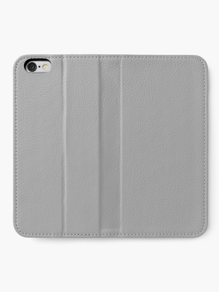 Alternate view of PLAIN SOLID DARK GREY |PLAIN SOLID DARK GRAY iPhone Wallet