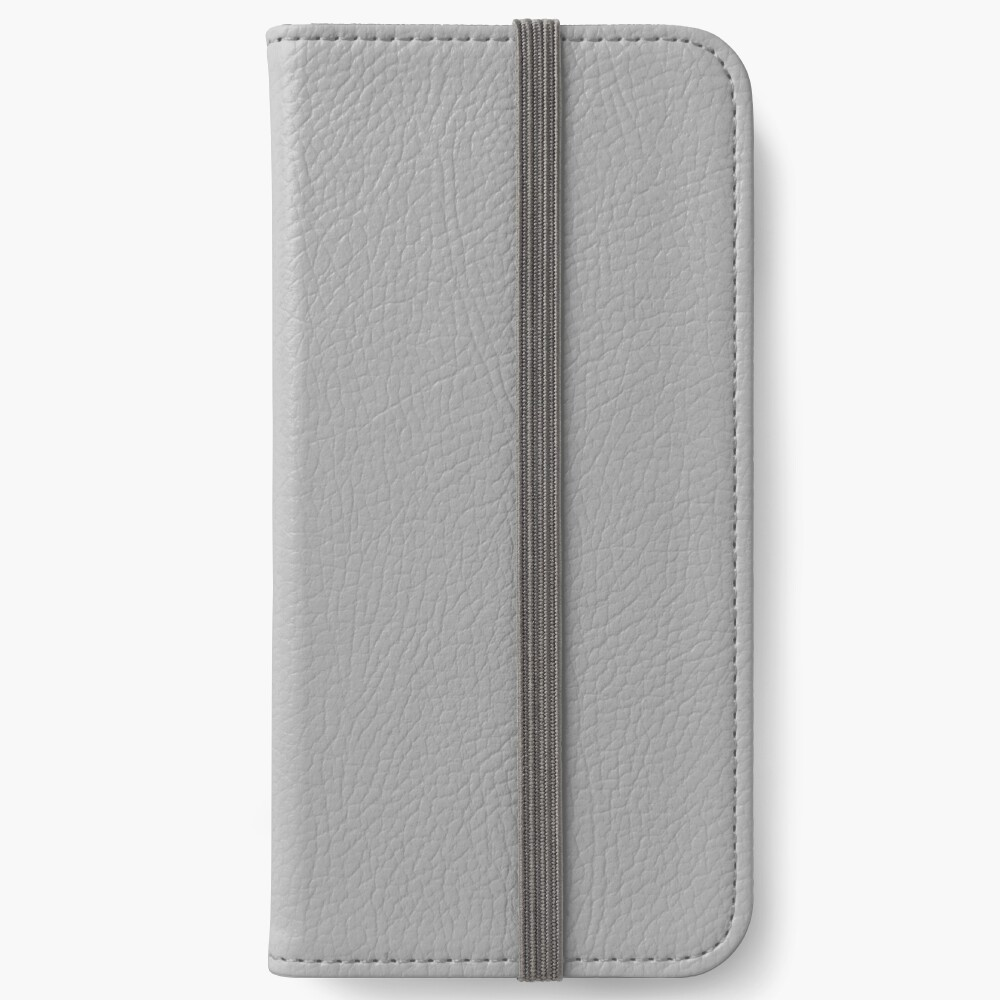 PLAIN SOLID DARK GREY |PLAIN SOLID DARK GRAY iPhone Wallet