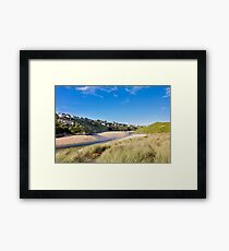 Crantock And The Gannel Framed Print
