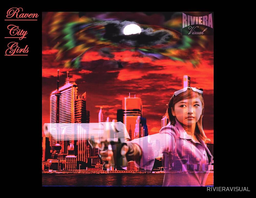 Raven City Girls - Planet Kitten by RIVIERAVISUAL