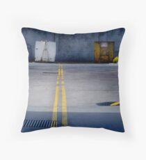 A Bin Too Far Throw Pillow