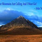 Buachaille and John Muir by beavo