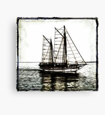 Ship Out to Sea Canvas Print