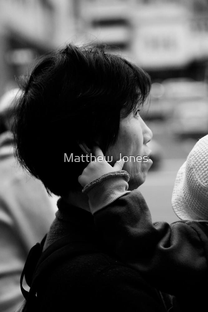 asian woman by Matthew Jones